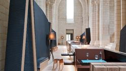 Saving grace: Designers respectfully transform 12th-century abbey