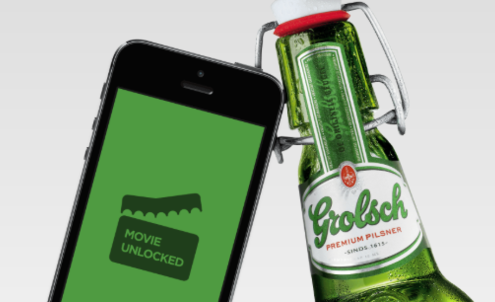 Russian designers offer beer drinkers access to free films on tap
