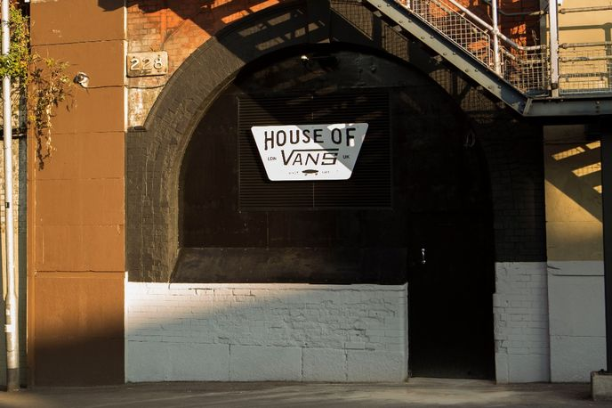 House of Vans, Waterloo London