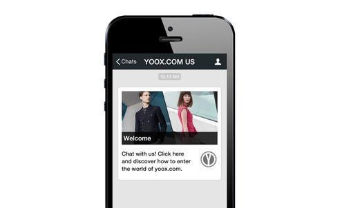 Yoox joins forces with WeChat for m-commerce push