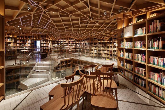 Hyundai card travel Library by Wonderwall, Seoul, Korea