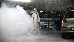 Survival of the fittest: Fashion show turns into a dystopian spectacle