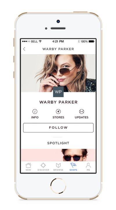 Spring mobile app
