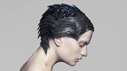 Mind-reader: Swarovski Gems headgear visualises brain activity
