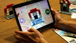 Brick by click: Lego uses hands to build virtual worlds