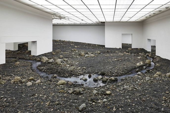 Riverbed by Olafur Eliasson, Louisiana Museum of Modern Art