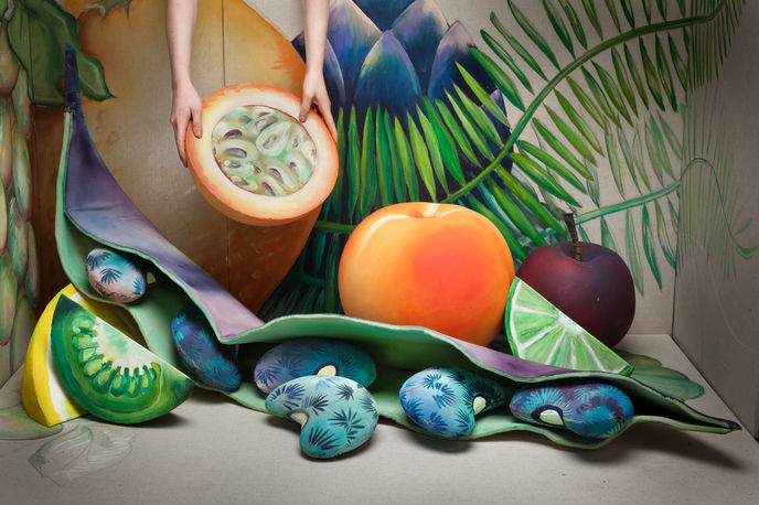 Fruits of Labor by Bethan Laura Wood for Hermes