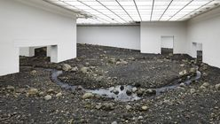 Staged Nature: artist brings raw Danish landscape indoors