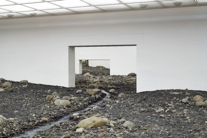 Riverbed, by Olafur Eliasson