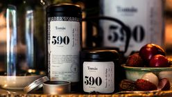 Connoisseur's code: Tea shop uses visual language