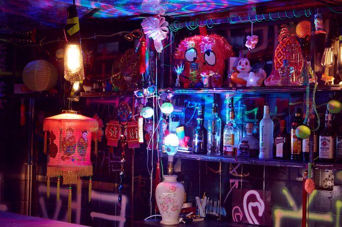 Bleach pop-up Bar, Dalston, London