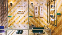 Pegged-down design: Puma opens modular store in South Africa