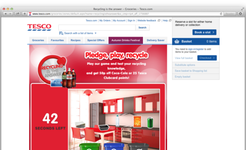 Tesco and Coca-Cola tackle recycling reluctance