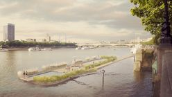 Taking the plunge: River potential on show at London Design Festival