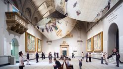 Reflective space: Barber Osgerby goes upside down at the V&A for London Design Festival