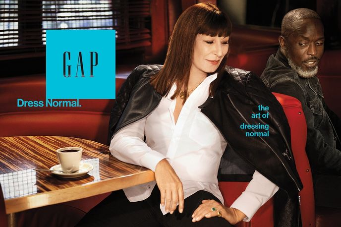 Gap Dress Normal Campaign