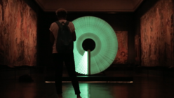 London Design Festival 2014: Illuminated installation plays on the idea of time