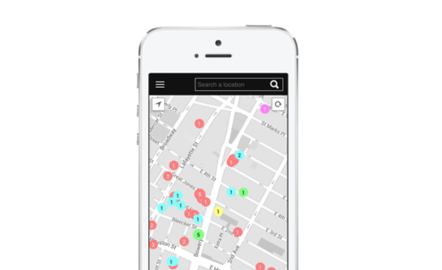 New app offers curated maps of city hotspots with recommendations