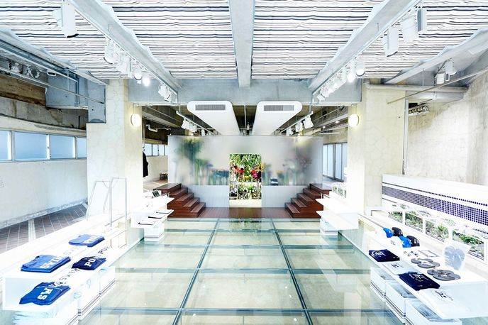 the POOL, Pop-Up floral shop by AMKK (Azuma Makoto & Shiinoki Shunsuke)