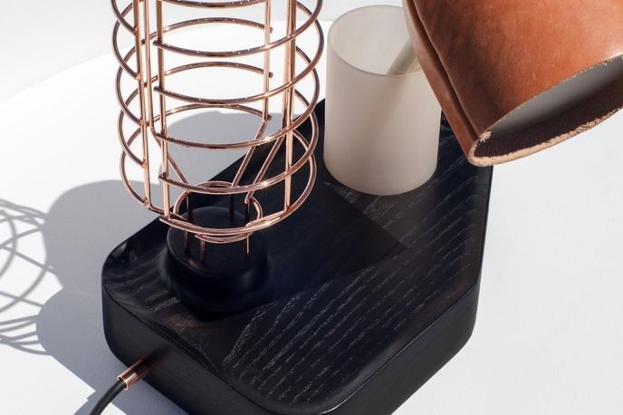 The Standard Table Lamp, by Knauf and Brown