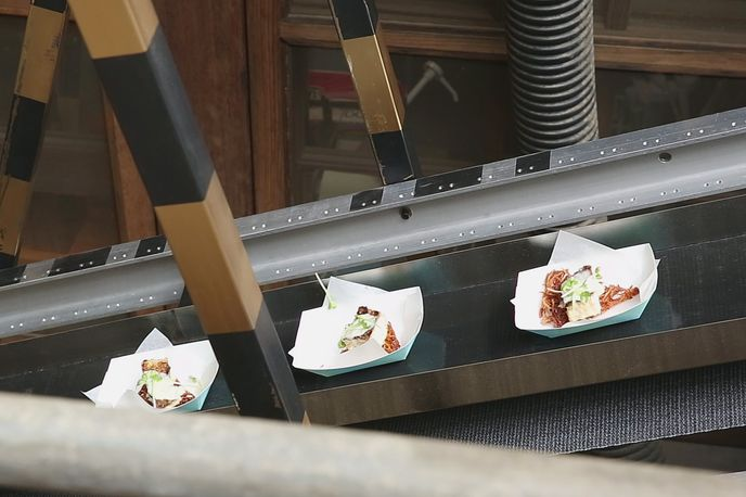 Secret Restaurant, by Bob Dornberger, Pasadena. Photo by Ian Byers-Gamber.