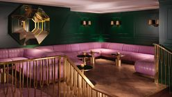 Roaring ahead: Mr Lyan's latest bar offering at Mondrian's South Bank Hotel