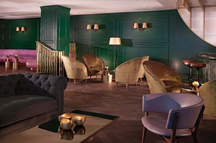 Dandelyan bar at Mondarin hotel, London