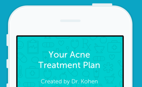 New app lets patients obtain acne treatment via their mobiles