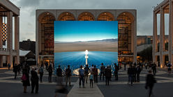 Solar reality: Artist simulates Nevada energy plant in New York