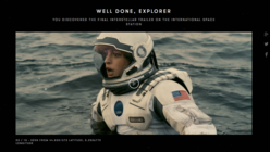 Reach for the stars: Paramount and Google join forces on Interstellar film