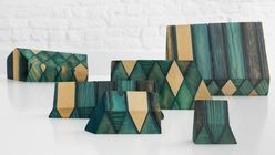 Created from within: Collection made from wood dyed from the inside