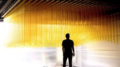 Piping hot: Interactive installation for oil company makes waves in Norway
