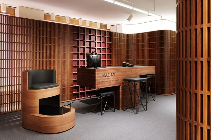 Bally New Bond Street Flagship Store by David Chipperfield, London