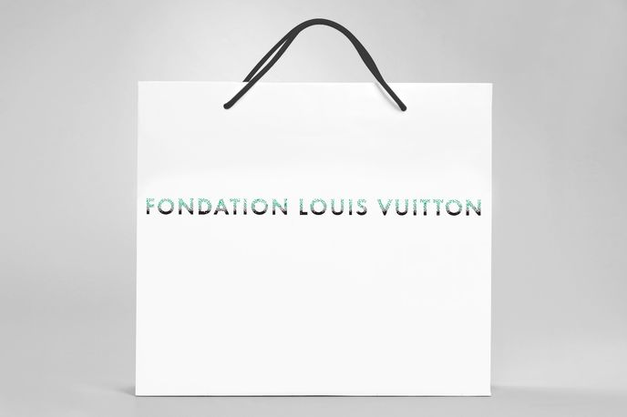 Brand Identity by Fondation Louis Vuitton