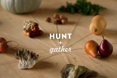 Hunt and Gather challenge by The Thought for Food