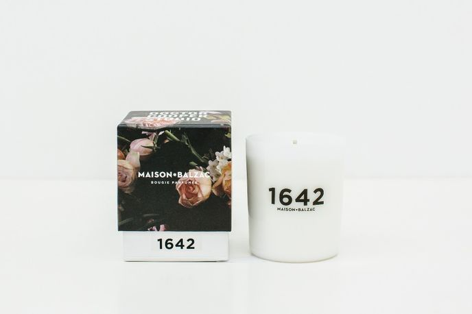 1642 candle by  Maison Balzac