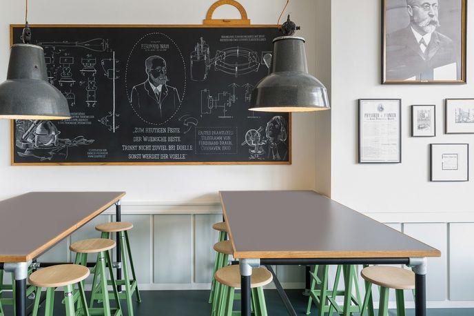 Cafe Ferdinand by Aerogram Studio, Hamburg