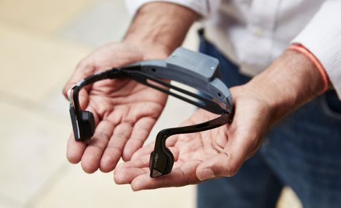Headset creates urban soundscapes for the blind and partially sighted