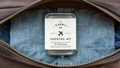 Sky high cocktails: The miniature DIY kit for an in-flight Old-Fashioned