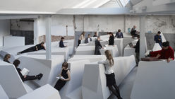 Standing room only: A workspace concept with no place to sit