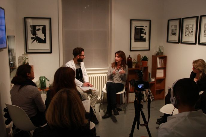 Anna James, Flat Age Society Networking Evening