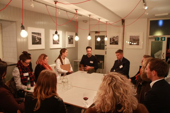 Guy Merrill, Flat Age Society Networking Evening