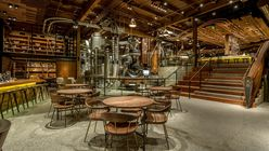 Laid bare: Starbucks reveals flagship store with a touch of theatre