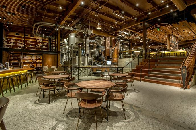 Starbucks Reserve Roastery, Seattle
