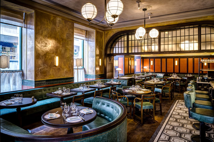 The Ivy Market Grill Bar, London. Image courtesy of Paul Winch-Furness