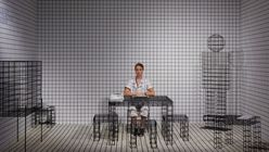 ​Design Miami/ 2014: Gridlocked installation creates optical illusion