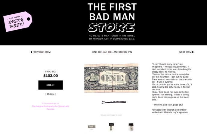 The First Bad Man Store, Miranda July