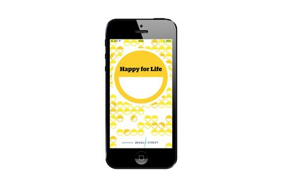 Happy for LIfe App, The Guardian, UK