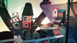 Play-makers: Studio creates video game that explores a hand-made city
