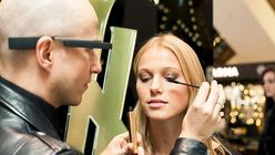 YSL introduces Google Glass make-up tutorials at Selfridges